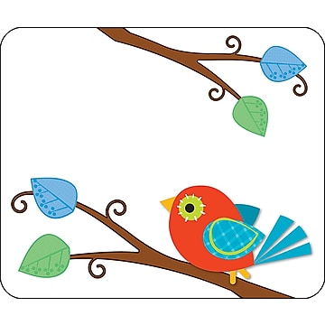 Carson-Dellosa Boho Birds Name Tags, 40/Pack