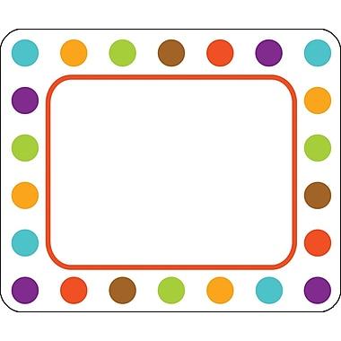 Carson-Dellosa Calypso Name Tags - Polka Dot, Grades PK - 5