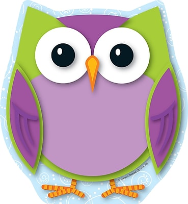 Carson-Dellosa Colorful Owl Notepad