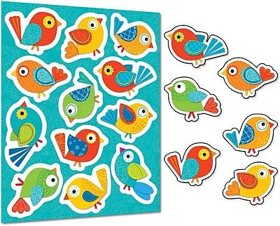 Carson-Dellosa Boho Birds Stickers, 72/Pack