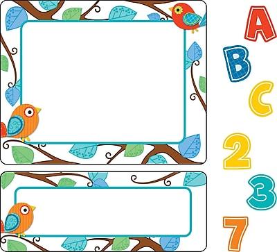 Carson-Dellosa Boho Birds Stickers Value Pack, Grades PK - 8