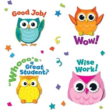 Carson-Dellosa Colorful Owl Motivator Stickers
