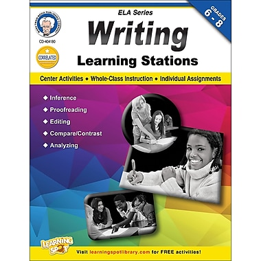 Carson-Dellosa Mark Twain Writing Learning Stations Workbook (404180)