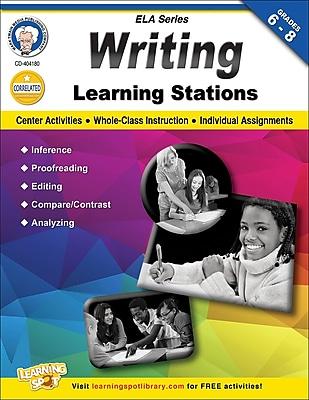 Mark Twain Writing Learning Stations Workbook