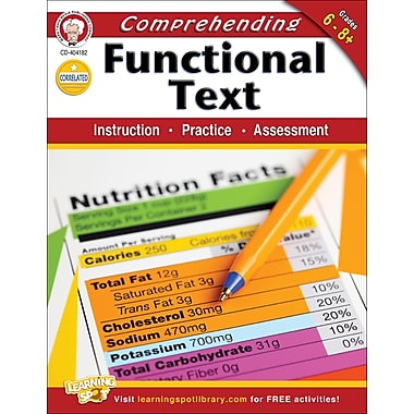 Carson-Dellosa Mark Twain Comprehending Functional Text Workbook (404182)