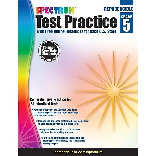 Spectrum® Test Practice Workbook, Grade 5