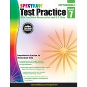 Spectrum® Test Practice Workbook, Grade 7