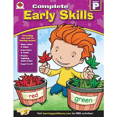 Carson-Dellosa Early Skills Workbook, Grade Pre-K (704283)