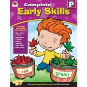 Carson-Dellosa Early Skills Workbook, Grade PK
