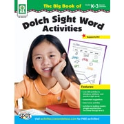 Key Education The Big Book of Dolch Sight Word Activities Workbook