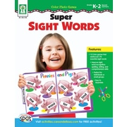 Key Education Color Photo Games: Super Sight Words Workbook
