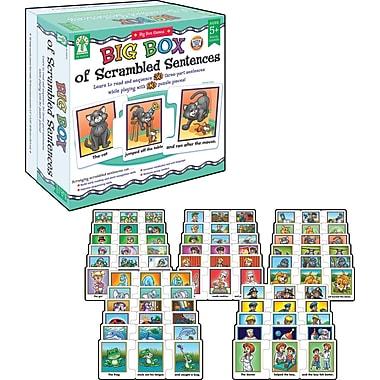 Key Education Big Box of Scrambled Sentences Puzzle