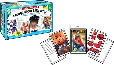 Key Education Early Learning Language Library Learning Card