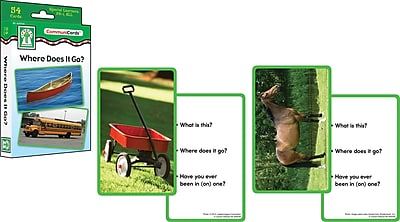 Key Education Where Does It Go? Learning Card