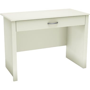 South Shore™ Work ID Laptop Computer Desk, White