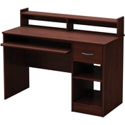 South Shore Metro Computer Desk, Royal Cherry