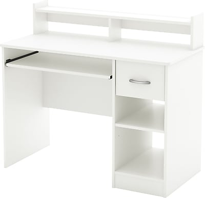 South Shore Metro Computer Desk, White