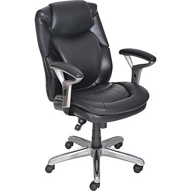 Staples® – Chaise fonctionnelle Serta Air™, noir
