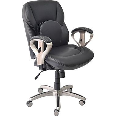 Staples® – Chaise fonctionnelle Serta Back In Motion™, noir