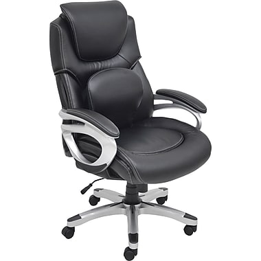 Staples® Serta Back In Motion™ Managers Chair, Black