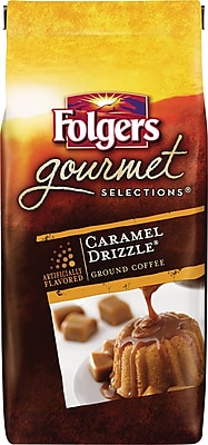 Folgers® Gourmet Selections® Coffee, Caramel Drizzle, 10 oz. Bag