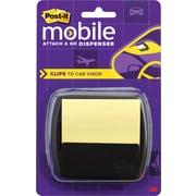Post-it® Mobile Attach and Go Car Visor Dispenser