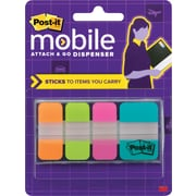 Post-it® Mobile Attach and Go Assorted Tabs, 40 Tabs/Pack