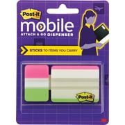 Post-it® Mobile Attach and Go Tab Dispenser, 24 Tabs/Pack