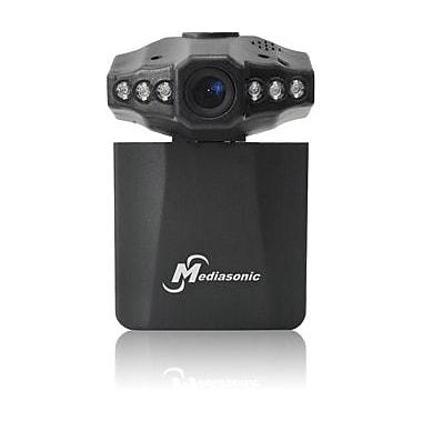 Mediasonic - Enregistreur vidéo pour tableau de bord automobile (MLG-7017CVR-2), noir