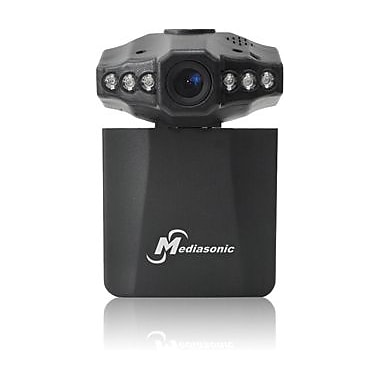 Mediasonic Car Dash Digital Video Camera Recorder (MLG-7017CVR-2), Black