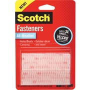 Scotch® Dual Lock Hook & Loop Fastener Tape, Clear (RFD7090)