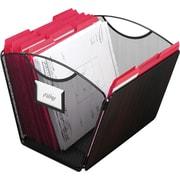 Safco Onyx 2162 Mesh Desktop Tub File, Letter Size, Black