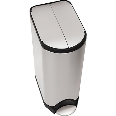 Simplehuman® Butterfly Step Trash Can, 8 Gallon