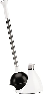 simplehuman® Toilet Plunger, White