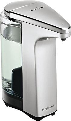 simplehuman® Compact Sensor Pump Soap Dispenser, Stainless Steel