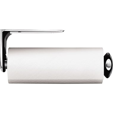 Wall Mount Paper Towel Holder simplehuman® wall mount paper towel holder, stainless steel | staples®