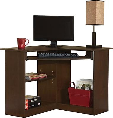 Easy2Go Corner Computer Desk, Resort Cherry