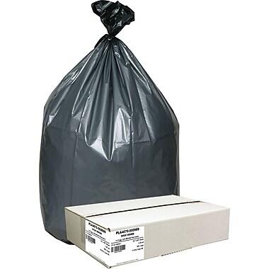 Platinum Plus Extra Heavy-Duty Trash Bags, 1.5 mil, 33 Gallons, 100/Carton