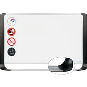 "MasterVision®, 48""H x 96""W, Porcelain Magnetic Dry-Erase Board, Aluminum Frame (BVCMVI210401)"
