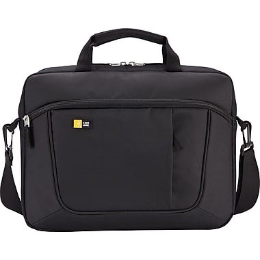 Case for 15.6 Laptop and Tablet, Black, 16-1/2 x 3-1/5 x 12-4/5, Polyester