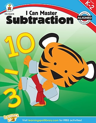 Carson-Dellosa I Can Master Subtraction, Workbook