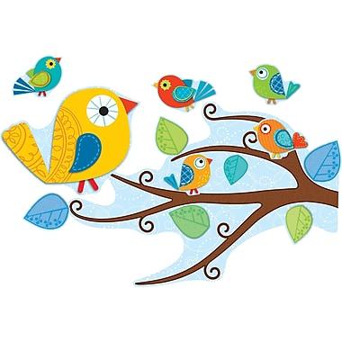 Carson-Dellosa 110202 Boho Birds Bulletin Board Set