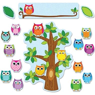 Carson-Dellosa Colorful Owls Behavior Bulletin Board Set (110226)