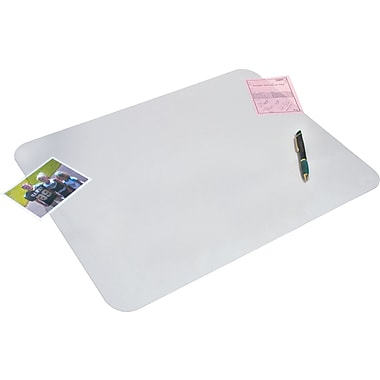 Artistic™ KrystalView™ Desk Pad with Microban®, Non-Glare Satin, 12