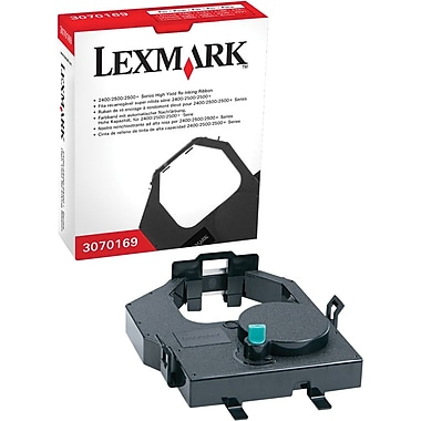 Lexmark 3070169 Black Re-Ink Printer Ribbon