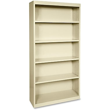 Lorell Fortress Series Bookcases; 5-Shelf, 72