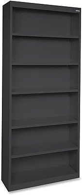 Lorell Fortress Series Bookcases, Black