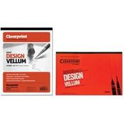 Chartpak® - Tablette de papier vélin ordinaire ClearPrint, 16 lb, bloc/50 feuilles
