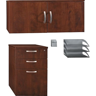 Bush Office in an Hour Storage and Accessory Kit, Hansen Cherry