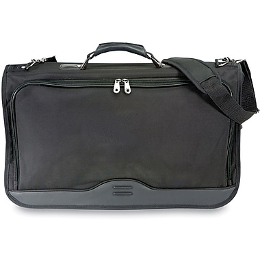 GP® 17517 Ballistic Nylon Tri-fold Carry-On Tribeca Garment Bag, Black
